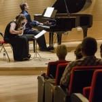 44 Festival de Plectro. Concierto Marashova-Ivanov. Museo Würth La Rioja